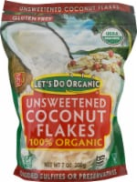 Let's Do Organic 100% Organic Coconut Flakes