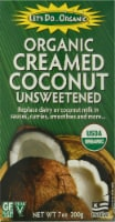 Let's Do Organic Cream Coconut Unsweetened Milk