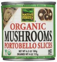 Native Forest Organic Portobello Mushroom Slices - 4 oz