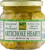 Natural Forest Quartered & Marinated Artichoke Hearts