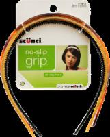 Scunci No Slip Grip Skinny Headband - 3 Count