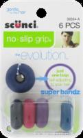 Scunci Hairbands No-Slip Grip Super Bandz Hair Ties