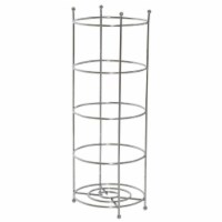 Zenith Zenna Home Polished Chrome Freestanding Toilet Paper Holder 7653SS - 1