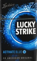 Lucky Strike Activate Blue Cigarettes - 20 ct