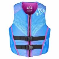 Full Throttle Full Throttle Womens Life Jacket Rapid-Dry Flex-Back-Blue-XS - 1