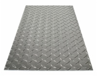 M-D Building Products 0.073 in. x 12 in. W x 24 in. L Aluminum Diamond Sheet Metal - Case Of: - Case of: 3