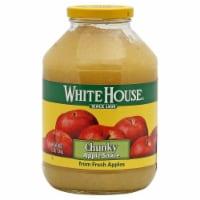 White House Chunky Apple Sauce - 50 oz