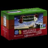 White House Variety Apple Sauce - 12 ct / 3.2 oz