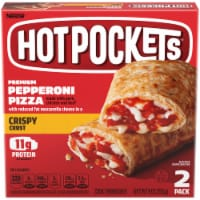 Hot Pockets Pepperoni Pizza Crispy Crust Sandwiches