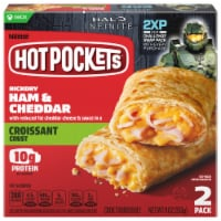 Hot Pockets Hickory Ham & Cheddar Croissant Crust Sandwiches