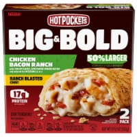 Hot Pockets Big & Bold Chicken Bacon Ranch Sandwiches 2 Count