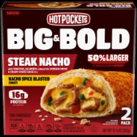 Hot Pockets Big & Bold Sriracha Steak Pizza Sandwiches 2 Count