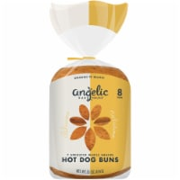 Angelic Bakehouse 7 Sprouted Whole Grains Hot Dog Buns 8 Count
