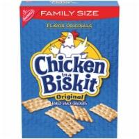 Flavor Originals Chicken in a Biskit Original Baked Snack Crackers Family Size - 12 oz