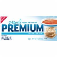 Premium Original Sea Salt Saltine Crackers - 8 oz