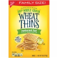 Wheat Thins Reduced Fat Snack Crackers Family Size
