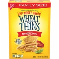 Wheat Thins Sundried Tomato & Basil Crackers Family Size