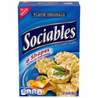 Flavor Originals Sociables Baked Savory Crackers