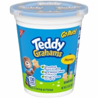 Teddy Grahams Honey Graham Snacks Go-Pak