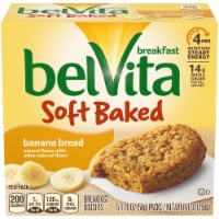 belVita Soft Baked Banana Bread Breakfast Biscuits