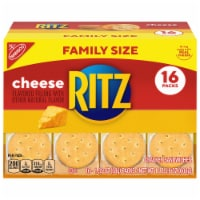 Ritz Cheese Crackers Sandwiches Packs Family Size