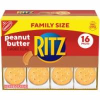 Ritz Peanut Butter Cracker Sandwich Packs Family Size 16 Count