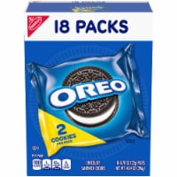 Oreo Chocolate Sandwich Cookies Multi-Pack 18 Count