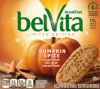 belVita Limited Edition Pumpkin Spice Breakfast Biscuits 5 Count