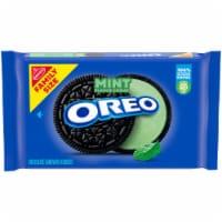 Oreo Mint Creme Chocolate Sandwich Cookies