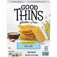 Good Thins Sea Salt Corn Snack Crackers