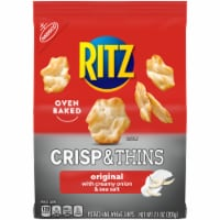 Ritz Crisp & Thins Original with Creamy Onion & Sea Salt Oven-Baked Chips