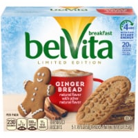 belVita Limited Edition Gingerbread Breakfast Biscuits