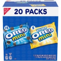 Oreo Mini Mix Sandwich Cookies Variety Pack 20 Count