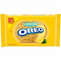 Oreo Lemon Creme Sandwich Cookies Family Size
