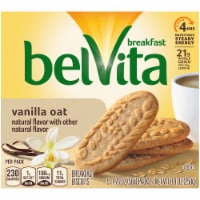 belVita Vanilla Oat Breakfast Biscuits 5 Count