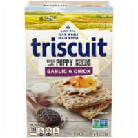Triscuit Woven with Poppy Seed Garlic & Onion Crackers