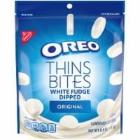 Oreo Thin Bites Original White Fudge Dipped Sandwich Cookies - 6.4 oz