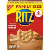 Ritz Whole Wheat Crackers Family Size