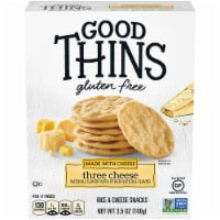 Good Thins Three Cheese Gluten Free Crackers