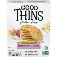 Good Thins Gluten Free Parmesan & Garlic Rice & Cheese Snacks