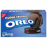 Oreo Fudge Covered Sandwich Cookies