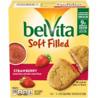 belVita Soft Filled Strawberry Baked Biscuits