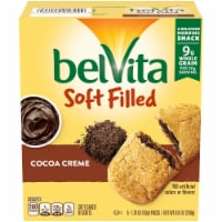 belVita Soft Filled Cocoa Creme Baked Biscuits