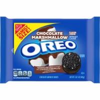 Oreo Chocolate Marshmallow Flavor Creme Chocolate Sandwich Cookies