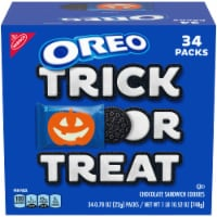 Oreo Boo! Chocolate Sandwich Cookies 34 Count