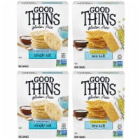 Good Thins Crackers 4 Count Variety Pack