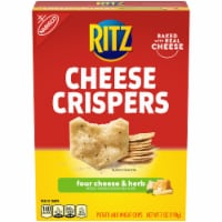 Ritz Cheese Crispers Four Cheese & Herb Potato and Wheat Chips