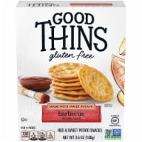 Good Thins Gluten Free Barbecue Flavored Sweet Potato and Rice Snacks