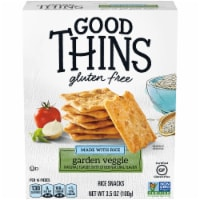 Good Thins Garden Veggie Gluten Free Crackers