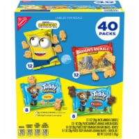 Nabisco Fun Shapes Variety Pack, 1 Ounce (40 Pack) - 1 unit